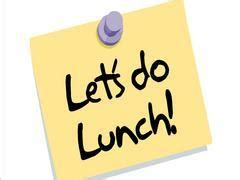 Lets do Lunch